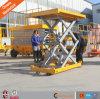 Le ce 2016 chaud a fixé le levage hydraulique de ciseaux de plate-forme de levage de ciseaux de véhicule stationnaire de table élévatrice
