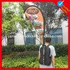 Facendo pubblicità a Backpack Walking Banner per Promotion