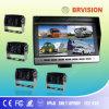 4개의 사진기 CCD CMOS 뒷 전망 시스템