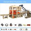 Многофункциональная конкретная машина делать кирпича цемента с вполне производственной линией