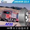 Pneumático resistente do caminhão, teste padrão da movimentação, pneumáticos de TBR (385/65R22.5)