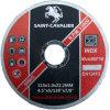 Disco ultra sottile di taglio per Inox 4.5  X5/128  X7/8