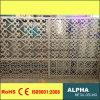 Façades et revêtements perforés extérieurs personnalisés de panneau de mur rideau d'aluminium
