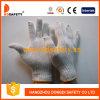 Естественные связанные перчатки хлопка 7 резьб датчика 2 (DCK701)