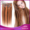 Mongolian Hair Clip di P Color 4#/14# Straight in Hair Extension