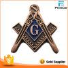 A presión la divisa modificada para requisitos particulares metal masónico del Pin del Freemason de la fundición