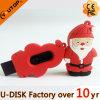 산타클로스 USB 섬광 드라이브 특별한 크리스마스 선물 USB 지팡이