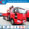 6X4 Faw Op zwaar werk berekende Truck met Crane voor Sale