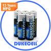 Alkalisches Battery Lr6 Size AA Am3 1.5V Battery