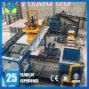 Máquina de moldear del mejor del precio del cemento ladrillo automático hidráulico de la pavimentadora