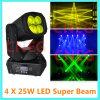 4*25W LED Moving Halsstarrige Beam Light