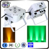 Beroep Stage Lighting DJ PAR Uplights Wireless DMX Battery 5in1 RGBWA 6*15W LED Flat PAR Light