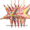 Lanterne di carta d'attaccatura di festival di natale/della stella decorazione del partito