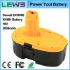 батарея електричюеского инструмента 18V Ni-MH для Dewalt DC9096