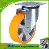 Industrielle mittlere Aufgabe PU-Aluminiumkern-Rad-Fußrolle