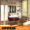 Oppein Europa Art kundenspezifischer hölzerner Badezimmer-Eitelkeits-Schrank (OP15-202A)