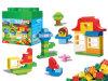 O brinquedo plástico do bloco de apartamentos do brinquedo ajustou-se (H6379070)