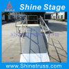 A rampa de alumínio do estágio, rampa do fardo, transporta a rampa