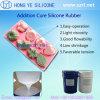 Borracha de silicone do produto comestível da cura da platina para moldes do chocolate