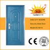 Puder-Beschichtung-Eintrag-Türen Wohn