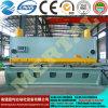 선전용 CNC 공작 기계 유압 단두대 격판덮개 깎는 기계 또는 장 절단기 20*4000mm