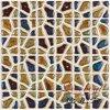 De hete Verkopende Tegel van de Muur van het Mozaïek van het Porselein van de Korrel van de Vorm van het Product Onregelmatige Mooie
