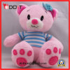Urso azul do luxuoso do urso da peluche do luxuoso do urso da flor