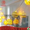 LED-Weihnachtskugel-Zeichenkette beleuchtet Raupen 10m 100 für Wedding Ramadan Dekoration