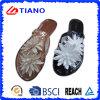 Flop чувствительных и способа PVC напольный Flip с украшением лилии воды (TNK35728)