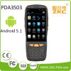 IP65 Rugged Android Handheld Qrcode 2D Scanner de code à barres PDA