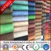 Couro artificial de PVC para bolsa de mão