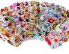 Autoadesivo adesivo delle decalcomanie del vario del PVC fumetto su ordinazione dei bambini