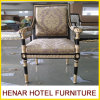 標準的な様式の骨董品ファブリック女王の王位の椅子