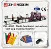 Saco de compra não tecido da alta qualidade que faz a maquinaria fixar o preço (ZXL-A700)