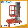 Lijst 100kg van de Lift van het Platform van de Arbeider van de Mast van het aluminium de Enige Lucht