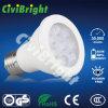 E27 het Witte LEIDENE van PC+Aluminum 7W Licht van PAR20