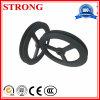 Нейлон Mc черноты колеса Pay-off кабеля/стальной шкив для подъема конструкции