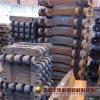 De hoge Delen van de Ketting van het Blad van de Baggermachine van het Zand van het Staal van het Mangaan Gietende