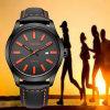 Acciaio inossidabile Watch72190 della manopola di sport della vigilanza del quarzo dei nuovi uomini Charming