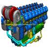 Peças de Pielstick, cabeça de cilindro de Pielstick PA4V 185: 24.018.027100/24.418.912100