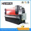 Máquina de dobra hidráulica da placa Wc67y-100X2500 de aço
