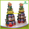 クリスマスツリーはボール紙ペーパーパレット表示を形づけた