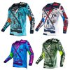 2016 New Fashion Custom Custom Sublimation Racing Jersey (MAT55)