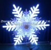 Holiday와 Christmas Decoration를 위한 LED Snowflake Light