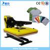 Machine manuelle de presse de la chaleur de bloc supérieur
