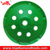 3 Tct와 가진 직경 180mm Single Row PCD Grinding Cup Wheel