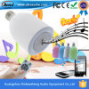 Diodo emissor de luz colorido Light Bluetooth Speaker de Bulb Portable Mini com Remote Control