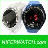 Reloj llevado de los hombres de la pantalla táctil de Digitaces del silicón (NFSP299)