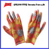 PU покрыл трудные защитные перчатки работы Guantes (PU 10022)