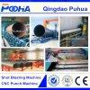 Machine de grenaillage de nettoyage de surface de pipe en acier de convoyeur de rouleau
